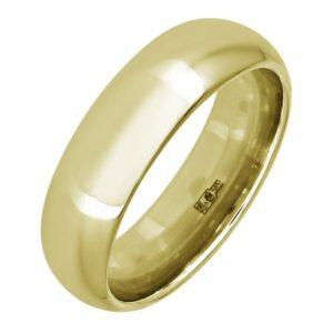 Кольцо обручальное классическое (золото 585 пробы)